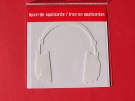 Applicatie / Headphone  Whackytag / opstrijk