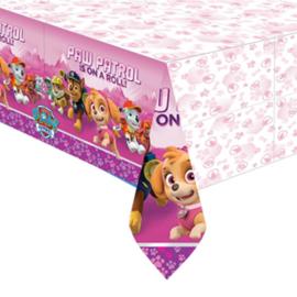 Pink Paw Patrol / kinderfeestTafelkleed