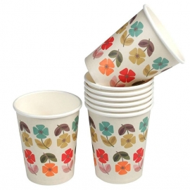 LT Mid Century Poppy bekers