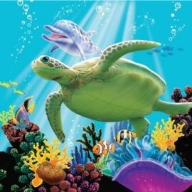 Oceaan / Onderwater / kinderfeest servetten
