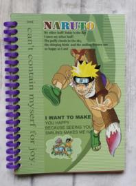 Notebook - schrift / Naruto / A5
