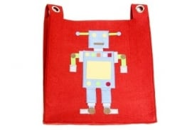Hanging pocket robot