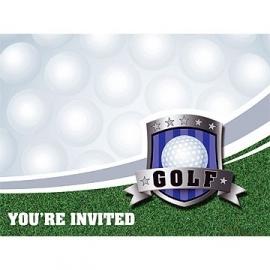 Golf / eest uitnodigingen