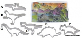 Uitsteker koekjes / Dinosaurus / diverse