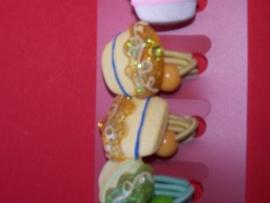 Vlechten elastiek / taartjes - cupcakejes