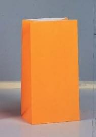 SE Papieren Zakjes / party - oranje