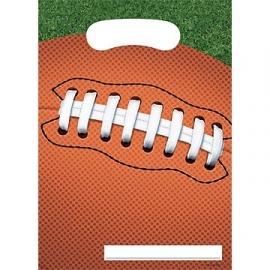 Uitdeel zakjes /  American Football feest