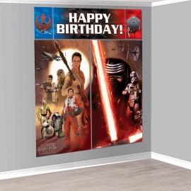 Star Wars  / feest Muurdecoratie