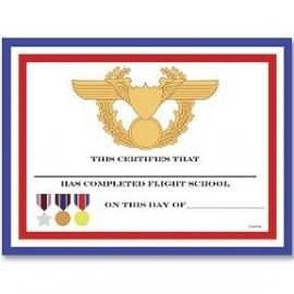PP Fighter Pilot feest certificaat