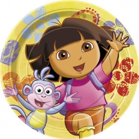 Dora the Explorer bordjes geel