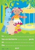 In de droomtuin feest uitnodigingen OP=OP