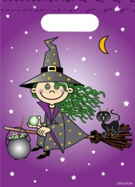 Heksen / witches snoepzakjes / kinderfeest
