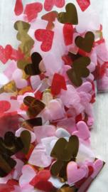 Confetti hartjes / mix / 10gr