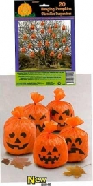 Zakjes / Pompoen decoratie / Halloween