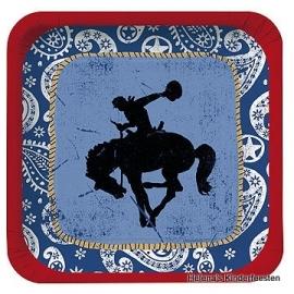 Cowboy Western / feest bord