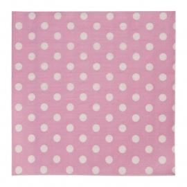 CE Papieren servetten roze 20 stuks 62452P