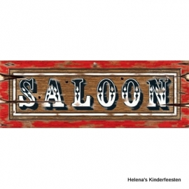 Cowboy western / feest Saloon muur decoratie