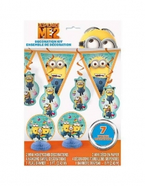Minions Despicable kinderfeest versier set