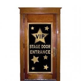 VIP stage door poster