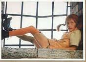 Kaart / Pippi Langkous / zittend in raam