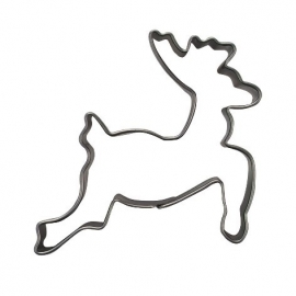 Springend hert uitsteker