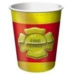 Brandweer - Fire Chief /feest bekers