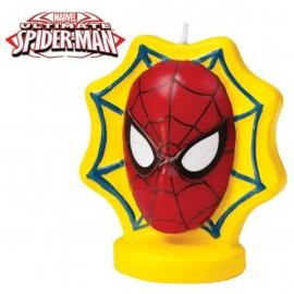 Verjaardags- taart kaars / Spiderman