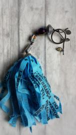 Tas / sleutel hanger BONFIM  - blauw