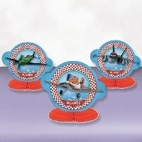 PS Planes Disney feest 3 tafel decoratie
