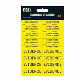PSI party scene investigation feest stickers