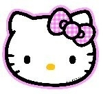 Hello Kitty, kinderfeest bord