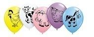 Ballonnen / Boerderij dieren