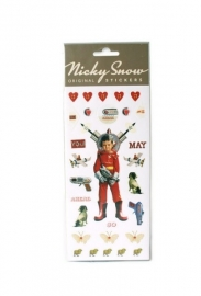 LT Nicky Snow stickers `Spacegirl`