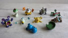 Pokemon / mini figuurtjes - poppetjes / 10stk / nr2