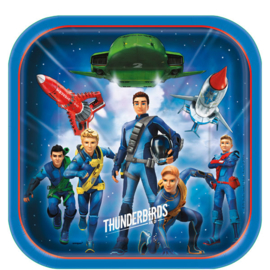 Bordjes /  Thunderbirds kinderfeest