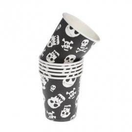Piraten - skull / feest bekers