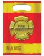 Brandweer - Fire Chief / feest zakjes