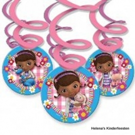 Doc Mc Stuffins /  draai swirl decoratie