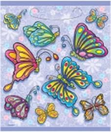 Kinderfesst vlinder tafelkleed / lila