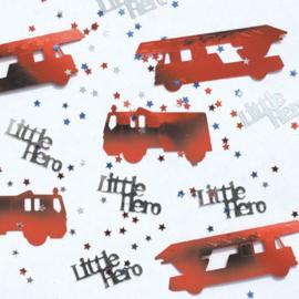 Tafelconfetti / Brandweer auto's