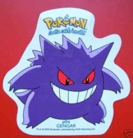 Pokemon / sticker / Gengar