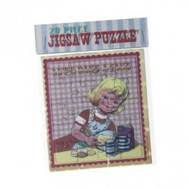 Puzzeltje - jigsaw / Cake bakken