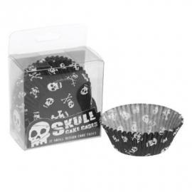 Cupcakevormpjes / Skull - schedel