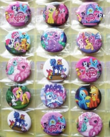 Button / My Little pony /  25mm /pstk