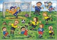 Raamplakker /  Voetbal