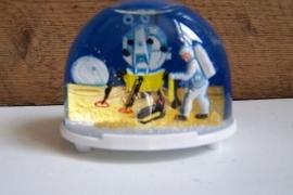 Sneeuwbal - schudbol / maanlanding