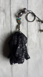 TI Tas / sleutel hanger BONFIM zwart