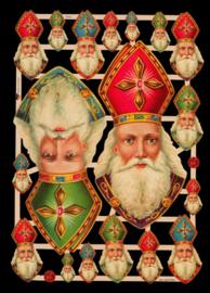 ME 7410 Poezie Plaatjes Bisschop Sinterklaas