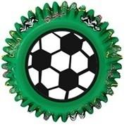 cupcake bakjes / voetbal