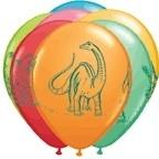 Ballonnen /  Set 6 Dinosaurus feest